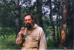 D.D. Badukov, participant of the expedition, click to enlarge